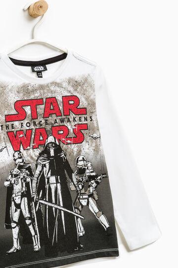 T-shirt maxi stampa Star Wars, Bianco sporco, hi-res