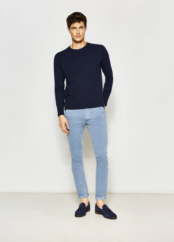 G&H slim-fit chino trousers | OVS