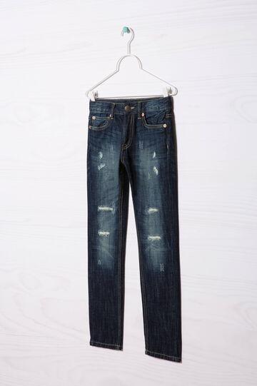 Worn-effect jeans, Medium Wash, hi-res