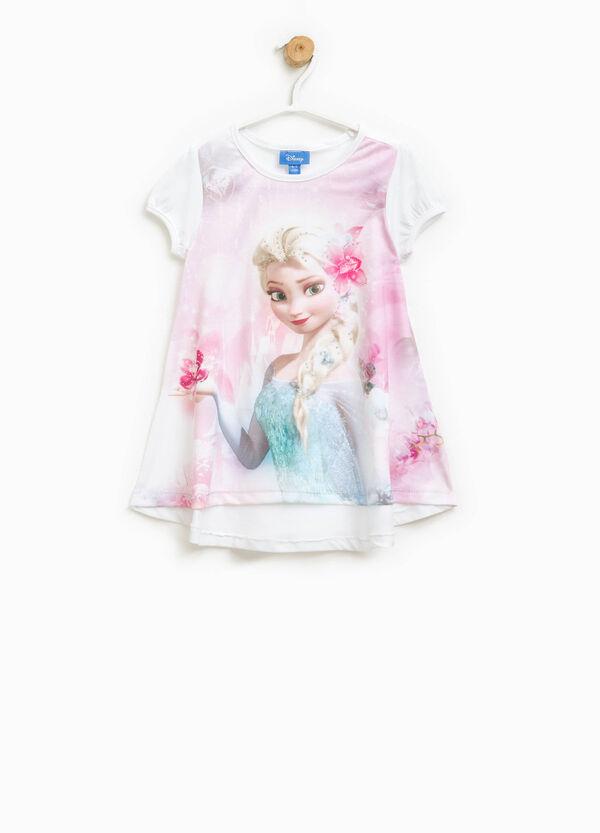 Long T-shirt with Frozen print | OVS