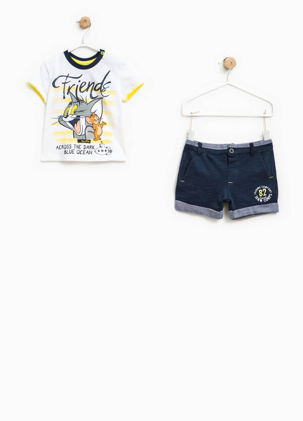 Tom and Jerry T-shirt and Bermuda shorts outfit | OVS