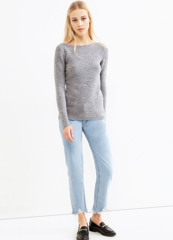 Mohair blend stretch pullover | OVS