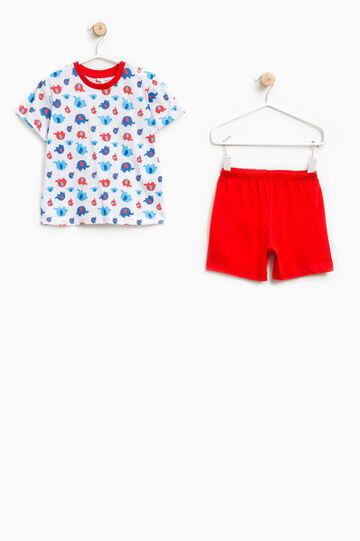 100% Biocotton pyjamas with elephants pattern
