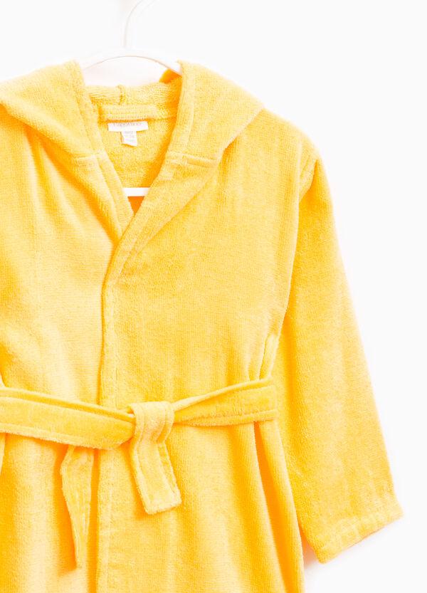 Solid colour 100% cotton robe | OVS