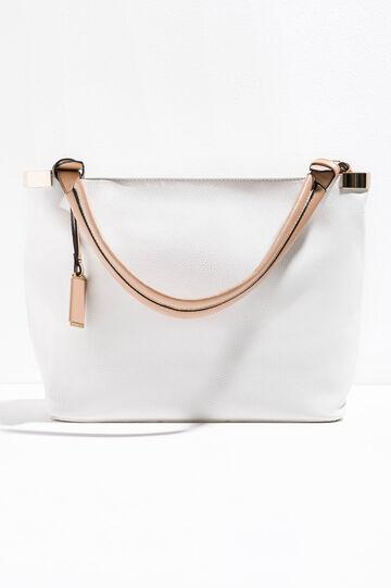 Handbag with textured effect