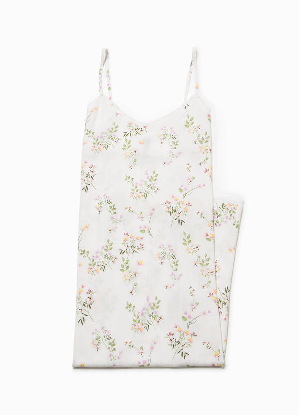 Nightdress with floral print   OVS