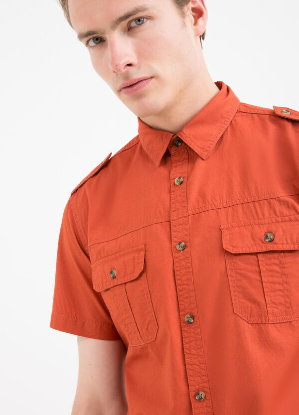 Camicia cotone tinta unita G&H | OVS