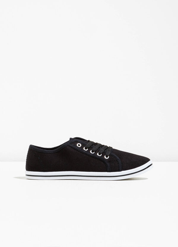 Sneakers in fabric with solid sole | OVS