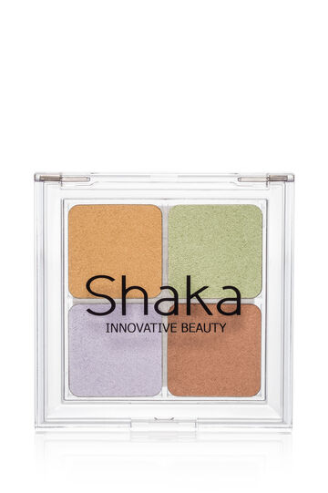 Concealer palette with four shades for face, Multicolour, hi-res