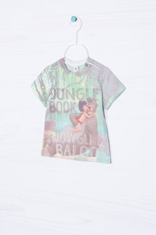 Maxi print T-shirt in 100% cotton, Multicolour, hi-res
