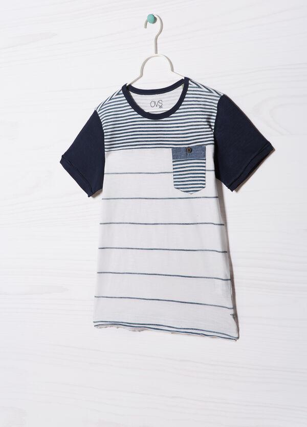 T-shirt puro cotone rigata | OVS