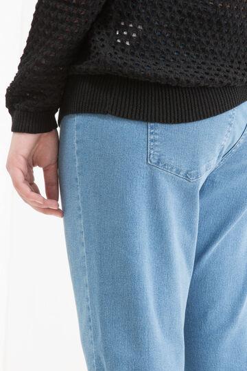 Jeans stretch Curvy, Blu chiaro, hi-res