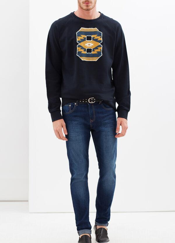 G&H sweatshirt with ethnic pattern print | OVS