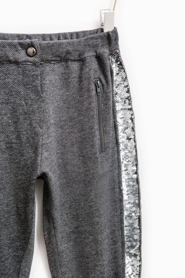 Trousers with sequins | OVS