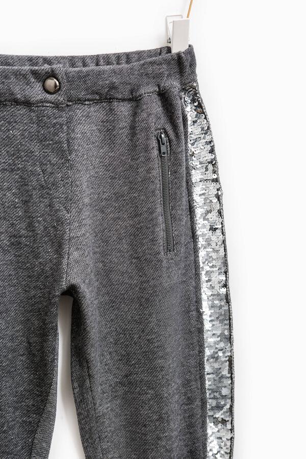 Pantaloni con paillettes applicate | OVS