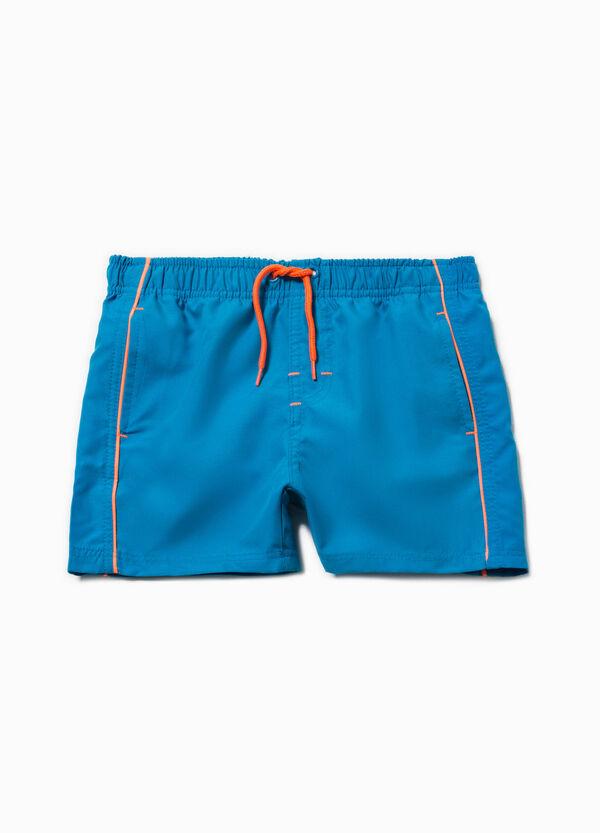 Swim boxer shorts with trim and drawstring   OVS