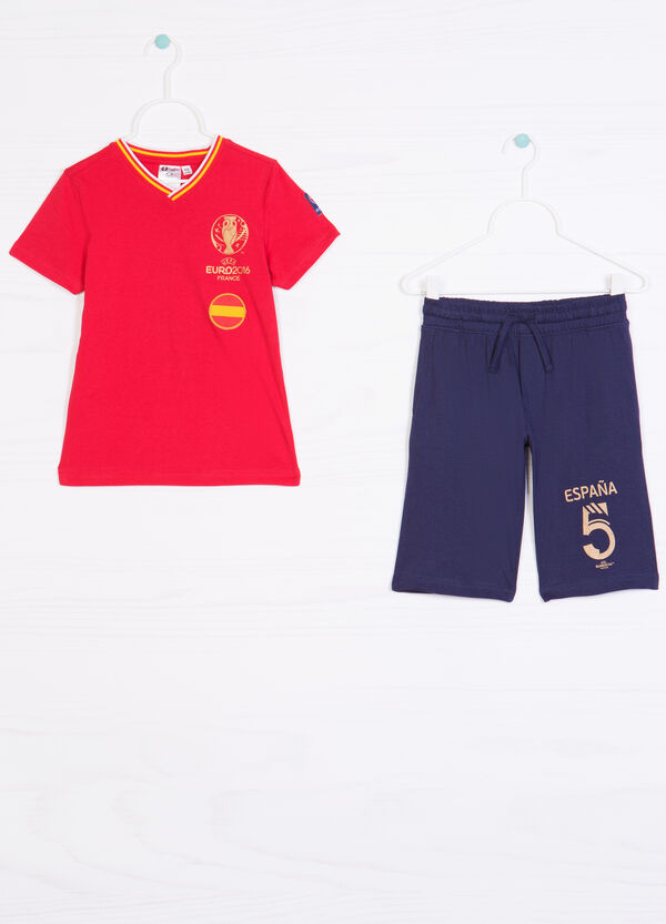 Outfit with UEFA Euro 2016 patch | OVS