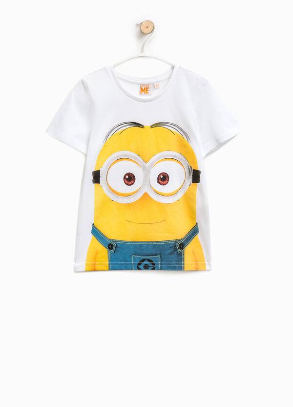 Cotton T-shirt with Minions print | OVS