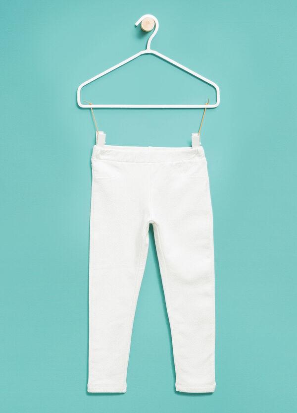 Pantalón de lunares de algodón | OVS