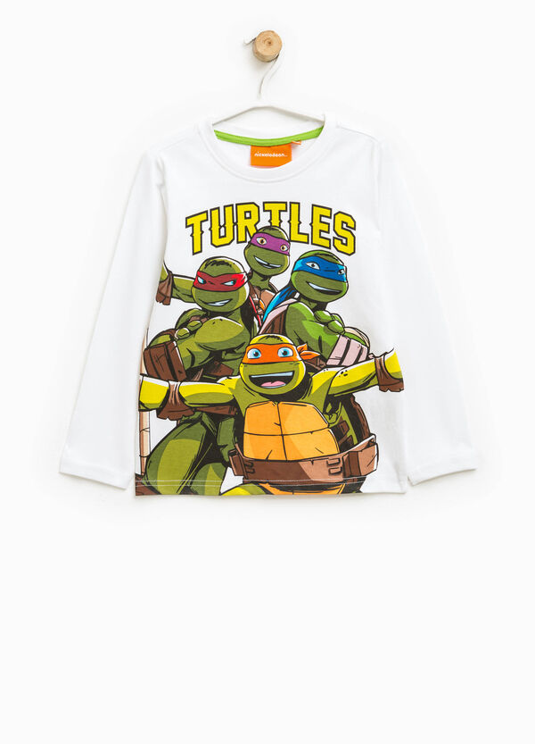 T-shirt con stampa Tartarughe Ninja | OVS
