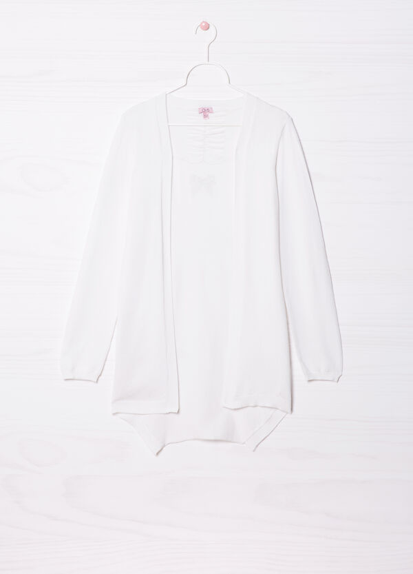 Cardigan tricot misto viscosa | OVS
