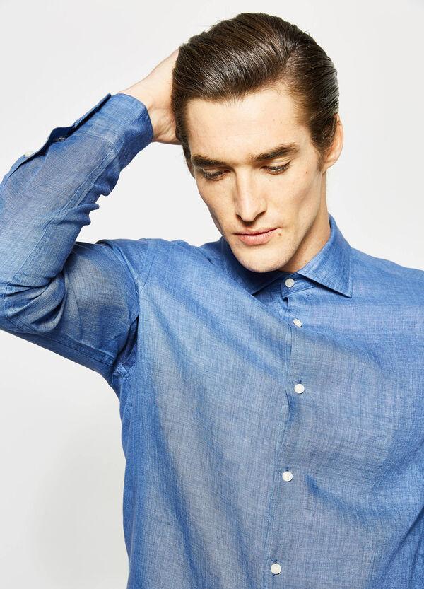 Camicia Rumford in puro lino | OVS