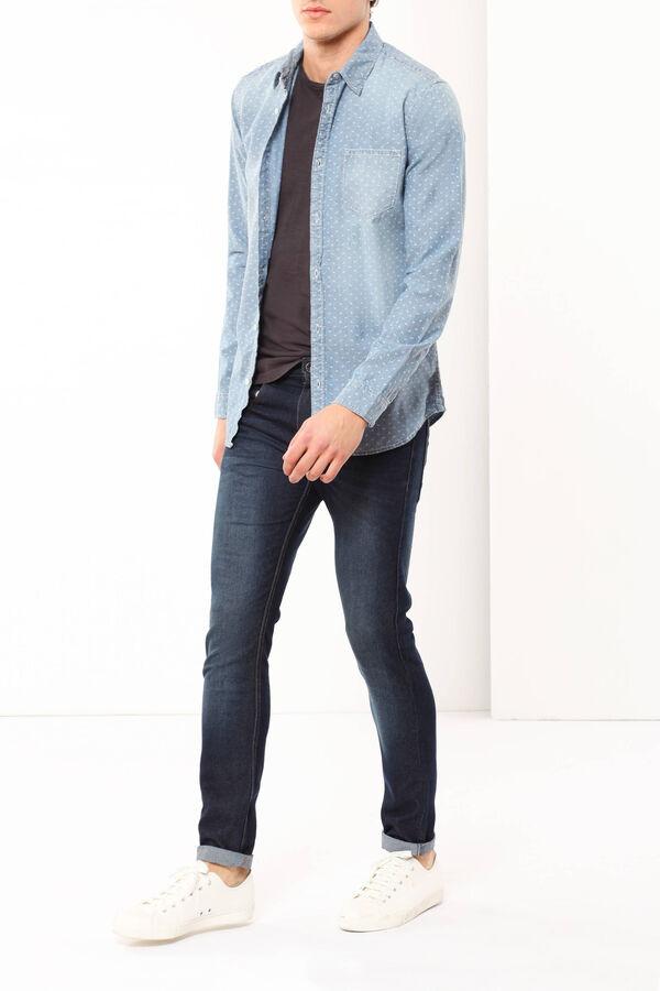 Camicia in cotone chambray | OVS