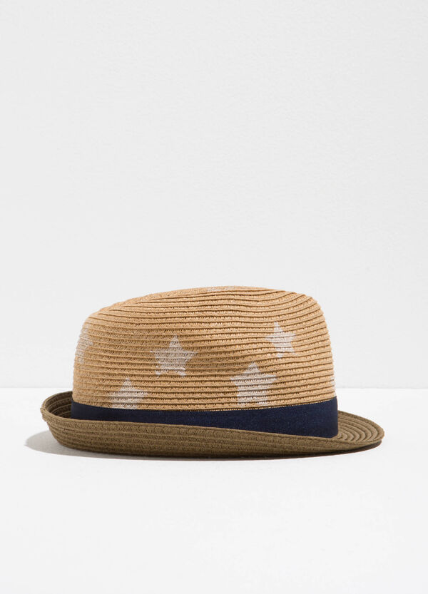 Wide brim hat with stars | OVS