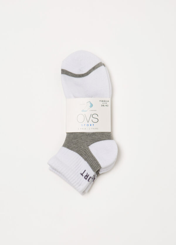 Two-pair pack of printed socks | OVS
