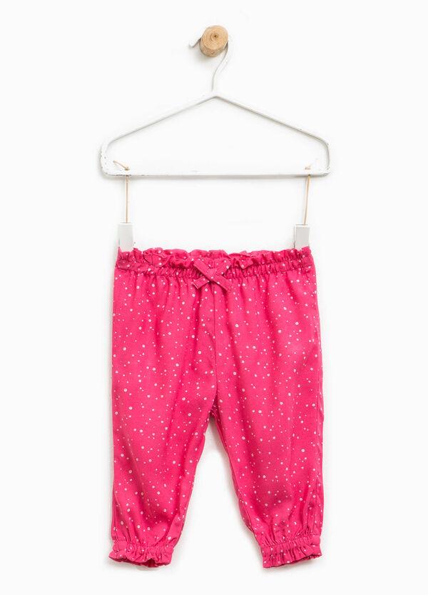 Pantaloni fantasia con fiocco | OVS