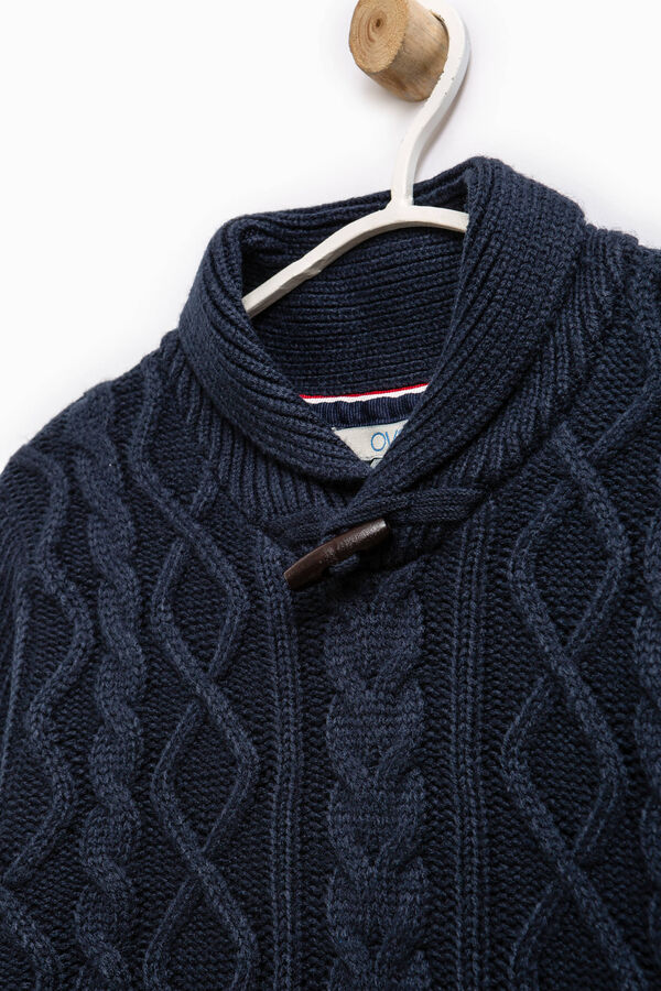 Pullover with high neck and toggle | OVS