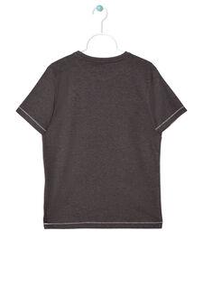 T-shirt con stampa, Nero grafite, hi-res