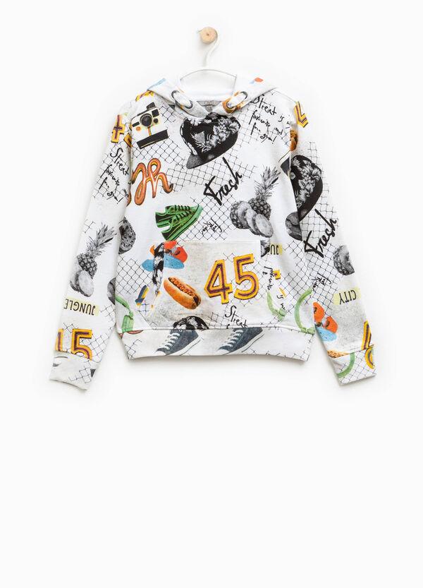Patterned hoodie | OVS