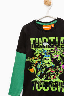 Teenage Mutant Ninja Turtle printed T-shirt, Black/Green, hi-res