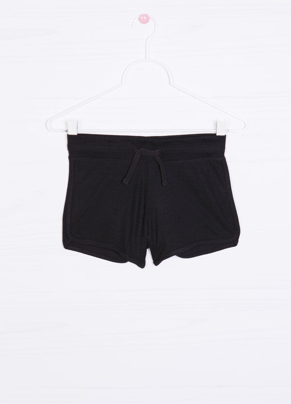 Shorts misto viscosa con coulisse | OVS