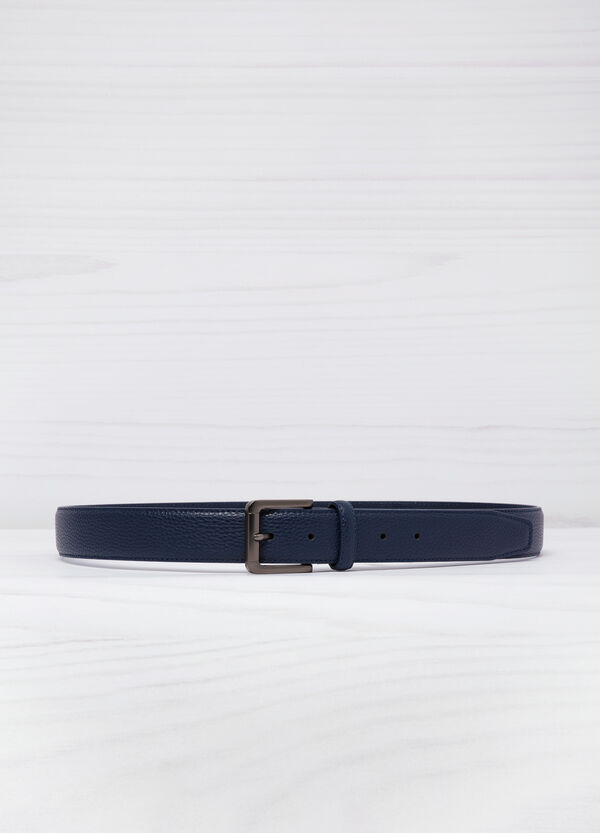 Hammered leather look belt | OVS