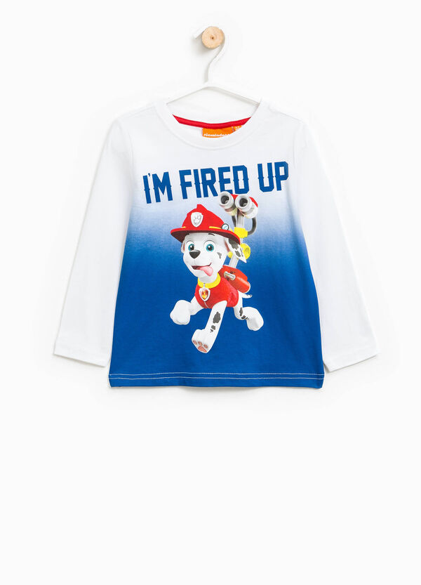 Degradé cotton T-shirt with Paw Patrol print | OVS