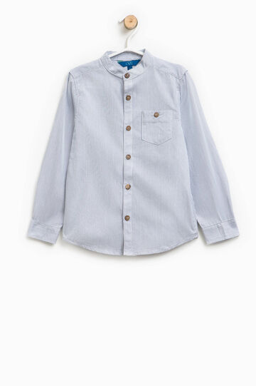 10% cotton striped shirt
