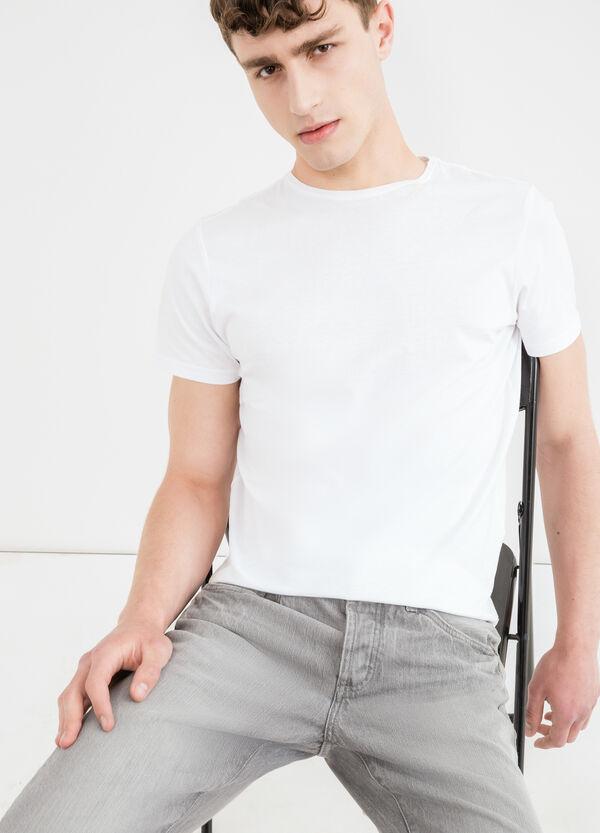 Jeans straight fit risvolto alle caviglie | OVS