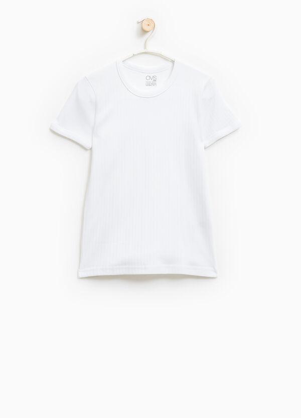100% cotton solid colour undershirt | OVS