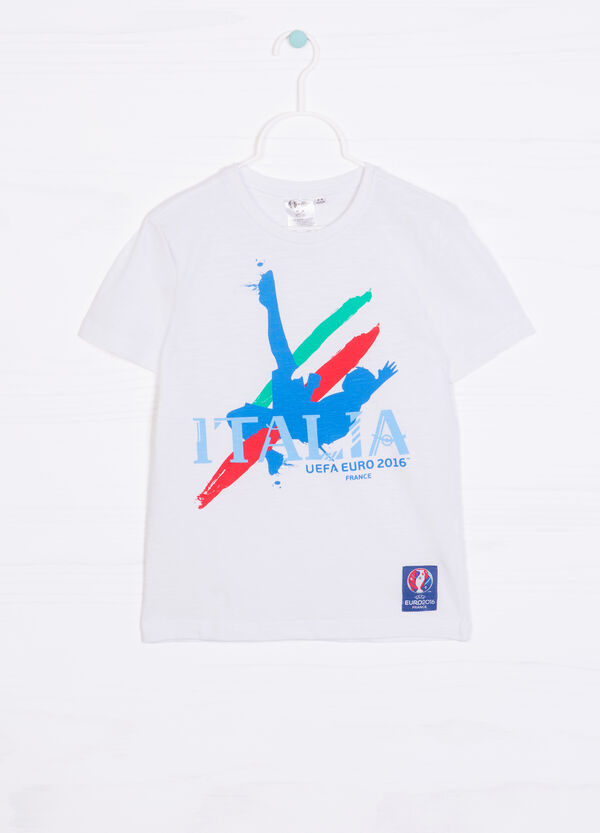 T-shirt scollo rotondo UEFA Euro 2016 | OVS