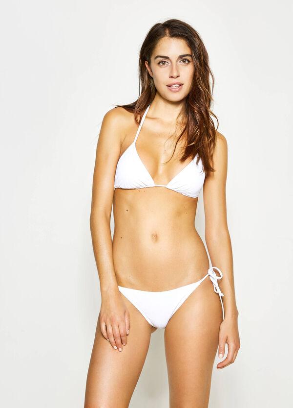 Solid colour stretch bikini | OVS
