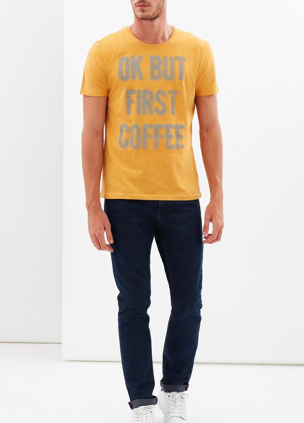 T-shirt stampata in cotone | OVS