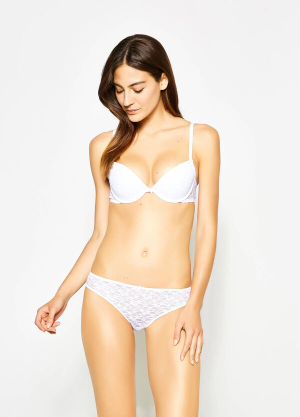 Lace briefs with bow | OVS