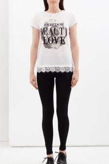 Stretch leggings, Black, hi-res