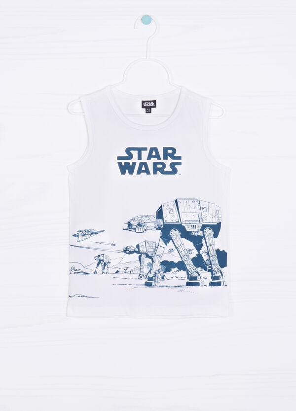 Star Wars printed cotton vest top | OVS
