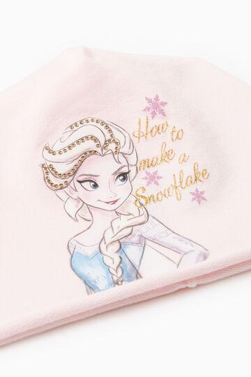 Frozen print beanie cap, Pink, hi-res