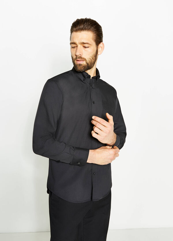 Regular-fit formal shirt with button-down collar | OVS