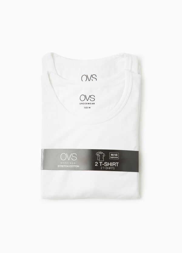 Set due t-shirt intime cotone stretch | OVS