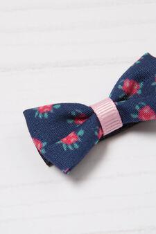 2-pack patterned hair clips, Denim, hi-res